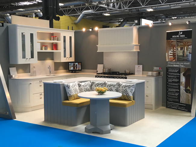 Holme Tree Bespoke Kitchens at NEC Homebuilding and Renovating Show 2016