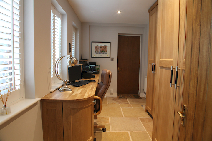 home office study furniture. Handcrafted Bespoke Home Study In Oak Office Furniture A