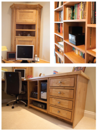 Bespoke home study and office designs from Holme Tree
