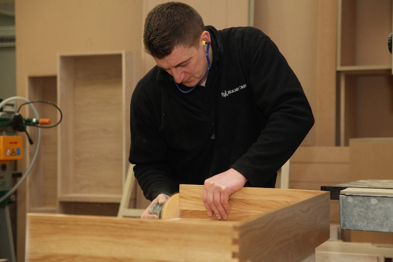Holme Tree Bespoke Furniture Workshop - hand crafted high quality finishing