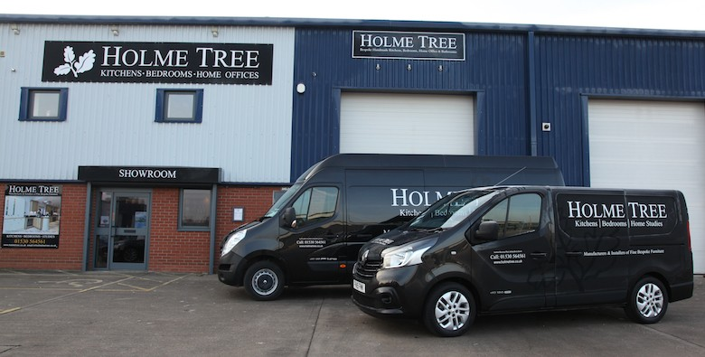 Holme Tree Bespoke Furniture Workshop and Showroom in Leicestershire