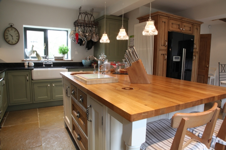 Hand crafted Barn Conversion Derbyshire Bespoke Kitchens