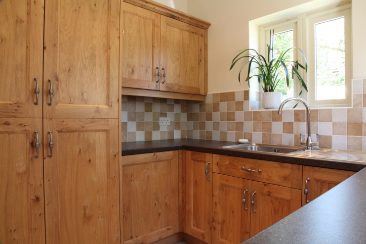 English Oak Utility Room