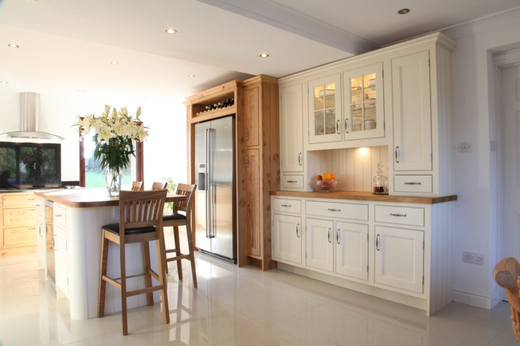 Bespoke English Oak In Frame Kitchen