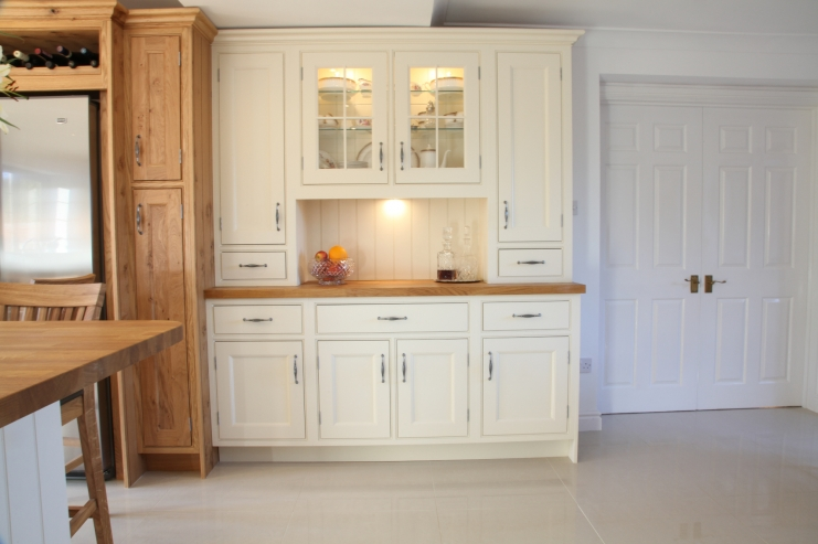 Hand Painted Kitchens In Derbyshire Bespoke Kitchens
