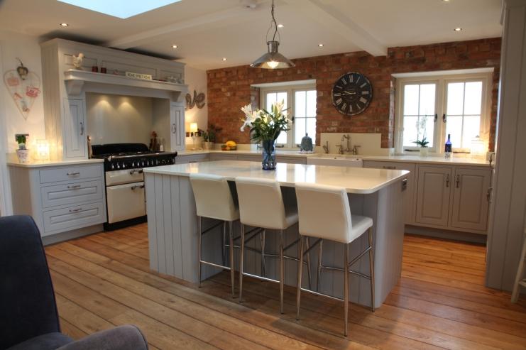 Distressed Hand-painted Kitchen | Bespoke Kitchens