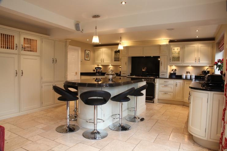 Beautiful Kitchen With Nero Angolan Granite Surfaces