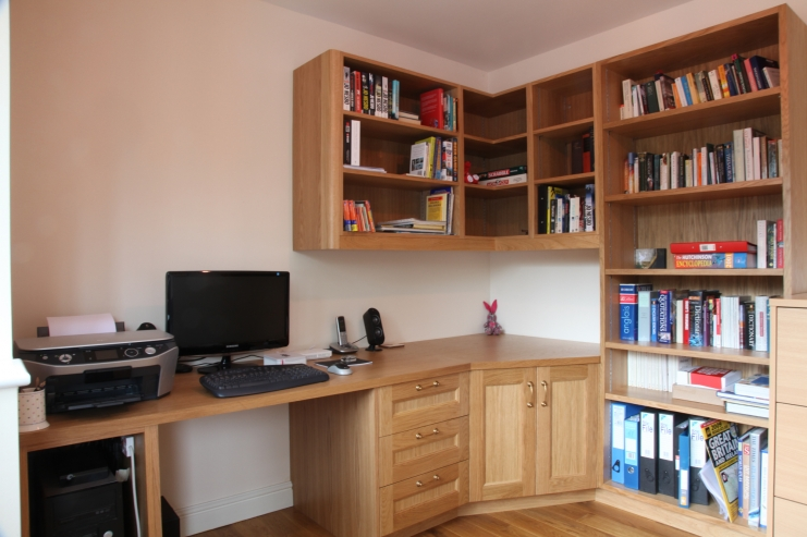 Bespoke home study designs bespoke home office studies Home study furniture design
