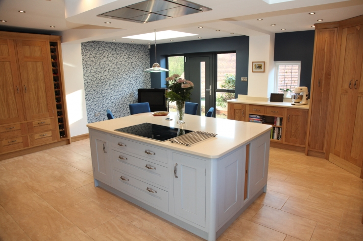 Luxury Shaker Kitchen Designs Bespoke Kitchens Adorable Bespoke Kitchen Design Painting
