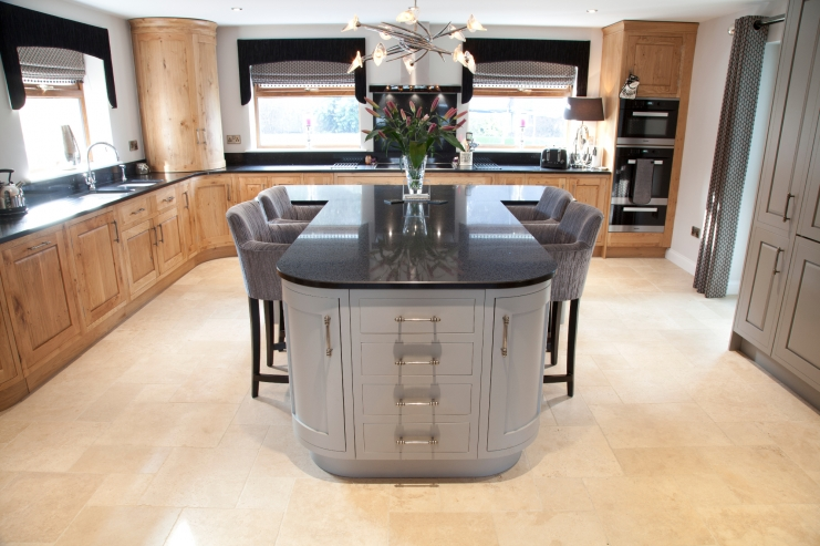 t shaped kitchen island luxury bespoke kitchen design in leicestershire bespoke 5968