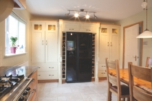 Integrated larder unit