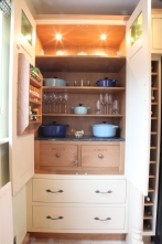 Functional and beautiful larder storage
