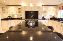 Large family range with stunning surround