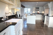Traditionally styled kitchen with Georgian detailing