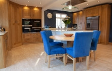 Luxury Kitchen Design in European Oak