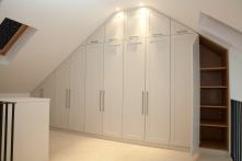 Sloping Wardrobe Doors