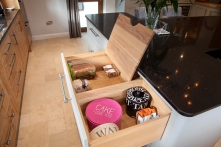 Bespoke bread and cake drawer
