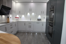 Bespoke painted kitchen Swadlincote Derbyshire