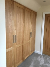 Full height fitted wardrobes