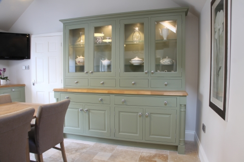 Bespoke furniture for dining area