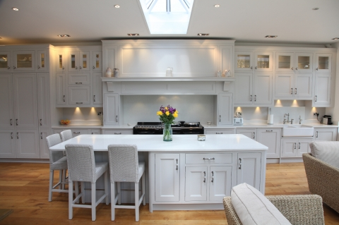 Handmade White Kitchen